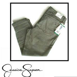 Jessica Simpson rolled cropped  skinny jeans 12/31